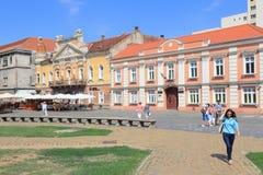 Timisoara - Piata Unirii immagine stock libera da diritti