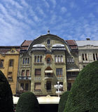 Timisoara-Revolutions-Quadratarchitektur Stockbilder