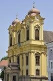 Timisoara RO, am 22. Juni: Roman Catholic Dome-Saint Geoge Cathedral von Union Square in Timisoara-Stadt von Banats-Grafschaft in Stockfotografie