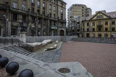 Timisoara, Romania, Europa, St George quadrato Immagini Stock Libere da Diritti