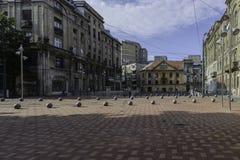 Timisoara, Romania, Europa, St George quadrato Fotografia Stock