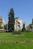 Timisoara, Romania Victory Square Stock Photo