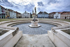 Timisoara`s Union square, Romania Stock Photo