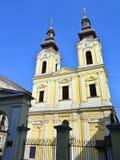 Timisoara serbian church Stock Photography
