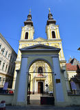 Timisoara serbian church. Timisoara city romania serbian church landmark architecture royalty free stock photography