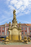 Timisoara - St. John Nepomuk statue in Liberty Square Stock Photos