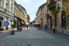 Timisoara-Stadtstraße Stockbild