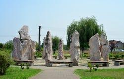 Timisoara stonehenge Royalty Free Stock Photography