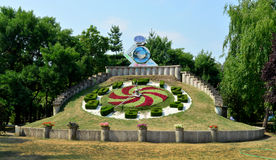 Timisoara-Uhr Lizenzfreie Stockfotos