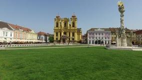 Timisoara union square stock footage