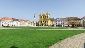 Timisoara union square stock video footage