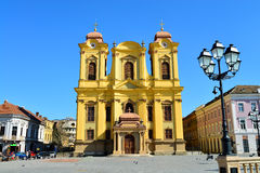 Timisoara union square dome Stock Image