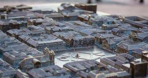 Metal Miniature Timisoara Union square Stock Photos