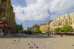 Timisoara - the Victory Square Stock Images