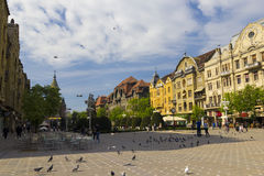 Timisoara - the Victory Square Stock Photo