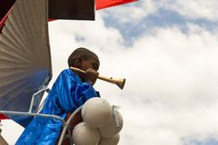 Timkat庆祝在埃塞俄比亚 库存照片