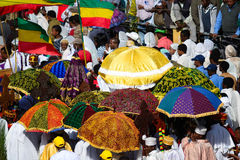 Timkat celebration in Ethiopia Royalty Free Stock Image