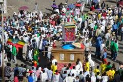 Timkat celebration in Ethiopia Stock Images