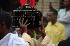 Timkat celebration in Ethiopia Stock Image