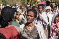 Timkat celebration in Ethiopia Stock Images