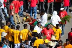 Timkat Feier in Äthiopien Lizenzfreie Stockfotos