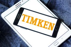 Timken Firma logo obrazy royalty free