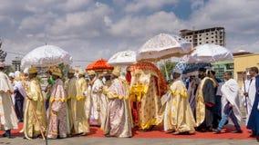 2016 Timket świętowania w Etiopia Obraz Stock