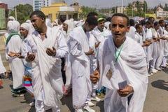 2016 Timket świętowania w Etiopia Obrazy Stock