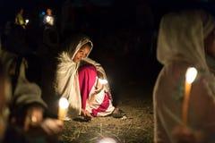 Timket, эфиопское правоверное торжество явления божества Стоковые Изображения