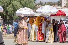 Εορτασμοί Timket στην Αιθιοπία Στοκ Εικόνα