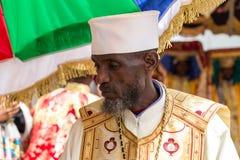Timket, a celebração ortodoxo etíope do esmagamento Fotos de Stock Royalty Free