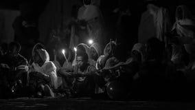 Timket, a celebração ortodoxo etíope do esmagamento Fotografia de Stock