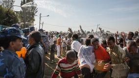 Timket Celebrations in Ethiopia Stock Images