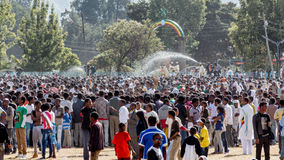 Timket Celebrations in Ethiopia Stock Photo