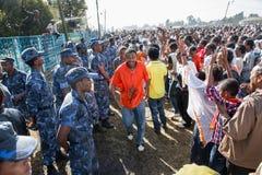 Timket Celebrations in Ethiopia Stock Photography