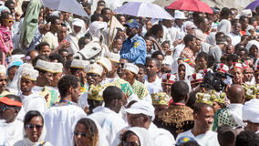 Timket Celebrations in Ethiopia Stock Images