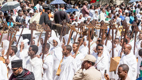 Timket Celebrations in Ethiopia Stock Image