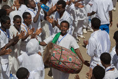 Timket Celebrations in Ethiopia Stock Photo