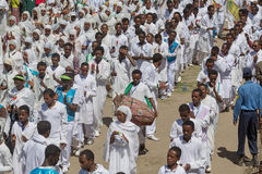 Timket Celebrations in Ethiopia Stock Photography