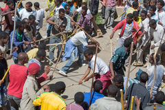 Timket Celebrations in Ethiopia Royalty Free Stock Image