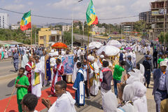 2016 Timket Celebrations in Ethiopia Royalty Free Stock Images
