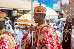 Timket,  the Ethiopian Orthodox celebration of Epiphany Royalty Free Stock Photo