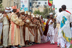 Timket,  the Ethiopian Orthodox celebration of Epiphany Royalty Free Stock Photos