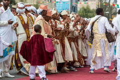 Timket,  the Ethiopian Orthodox celebration of Epiphany Stock Photography