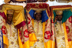 Timket,  the Ethiopian Orthodox celebration of Epiphany Royalty Free Stock Images