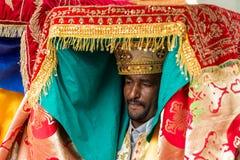 Timket, la célébration orthodoxe éthiopienne de l'épiphanie Photo libre de droits