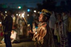 Timket, la celebrazione ortodossa etiopica di epifania Immagini Stock