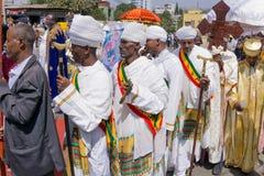 2016 Timket-Vieringen in Ethiopië Stock Afbeelding