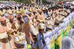 2016 Timket-Vieringen in Ethiopië Royalty-vrije Stock Foto