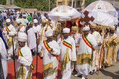 2016 Timket-Vieringen in Ethiopië Stock Fotografie
